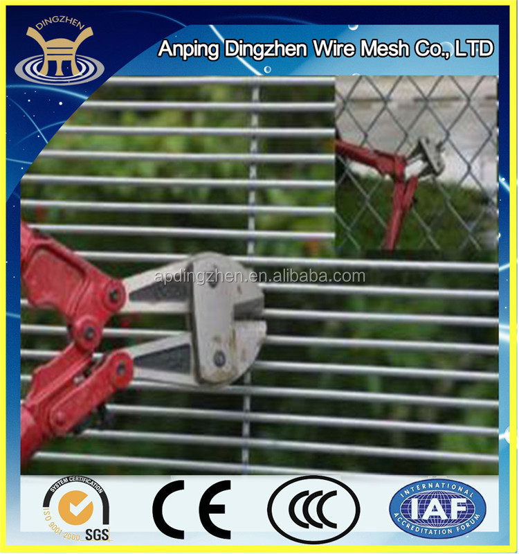 anti-cut 358 security fence for guard safety screening