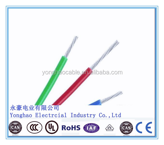 UL Certificate Approved Electrical YONGHAO Power Cable UL1015 PVC insulated Wire VW-1 & CSA FT1 flexible PVC coated wire