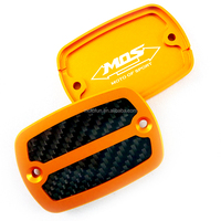 [MOS] CNC & Carbon Fiber Master Cylinder Caps for Yamaha T-MAX 530 (pair) (Type A) for Yamaha T-MAX / TMAX / Tmax 530