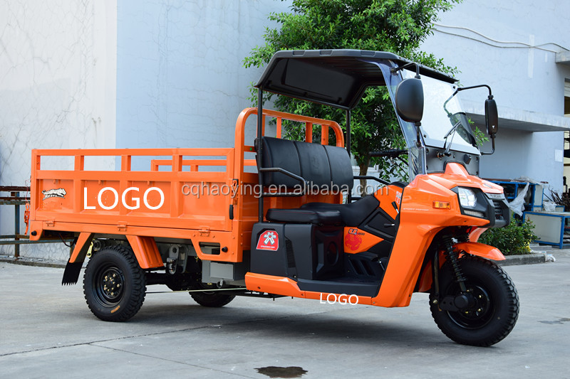 Rusi Cargo Tricycle With Cabin Three Wheel Motorcycle India (Model: HY200ZH-2C)