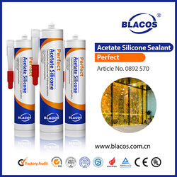 Factory Fast Curing acetic silicon sealant