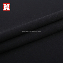 2017 scuba dyed material fabric crepe fabric plain dyed dress material scuba fabric