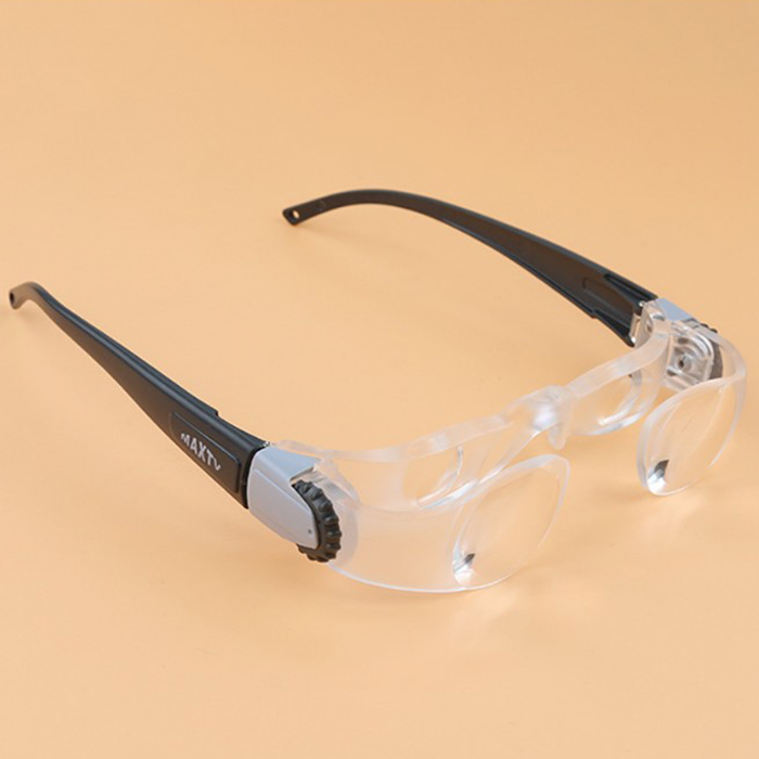 BJ65016S Low vision glasses 2.1X Max TV Television Magnifying Glasses