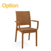 High Back Modern multi-purpose nilkamal plastic chairs