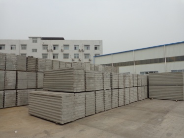 Final Product (EPS Cement Sandwich Panel, EPS Cement Solid Panel)