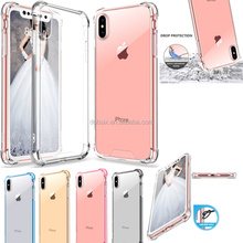 2017 new design clear PC back TPU bumper case cover for iphone x ,mobile phone back case