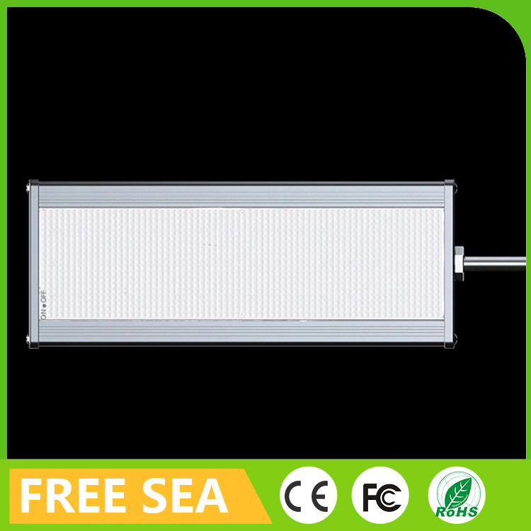 Mini solar panel 48 led aluminum sensor street light with longer bracket