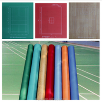 Antislip Colorful pvc sports flooring from china