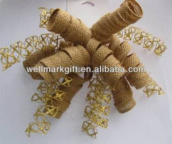 Natural Woven Twist Jute Fabric Rope Twine