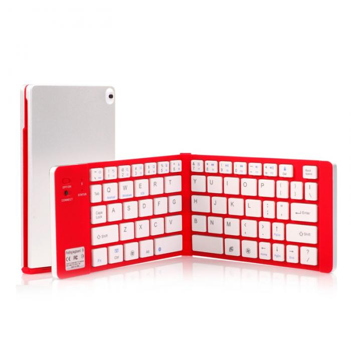 Foldable Bluetooth Wireless Keyboard For Smartphone Computer Kindle