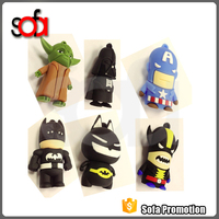 4GB custom lovely cartoon Promotional USB Flash drive