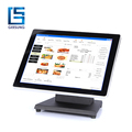 CT-1500 15 inch touch screen monitor with flat screen for sale