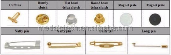 Gold plated cheap soccer souvenir metal lapel pins