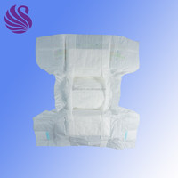 2016 PE Film A Grade Disposable Economic Baby Diapers Made in China