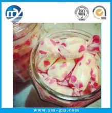 Pink Food Wax Wrapping Paper For Candy Chocolate Soap Packaging