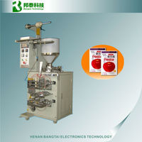 Automatic sachet packing machine,tomato paste packaging,automatic liquid filling machine