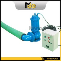 Electric water pumps submersible flow control