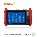 New design 7 inch ips touch screen AHD/CVI/TVI camera test ip camera tester
