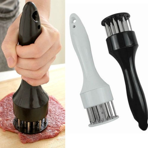 Stainless Steel Meat Cooking Tenderizer Tool Needle Knife