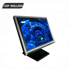"TOP 14"" 15"" inch VGA TFT LCD Touch Screen Monitor with POS Base(Black color)"