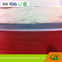 Silicone foam rubber sheets