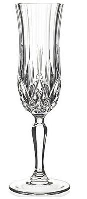RCR Opera Crystal Glass Champagne Glass, Set of 6