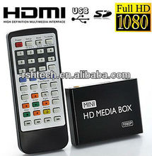 Mini Full HD Media Player Up to 1,080P Output ,for advertisement