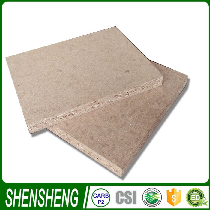 8mm//12mm/15mm/16mm/18mm/22mm/25mm plain board paper laminated chipboard for door core filling
