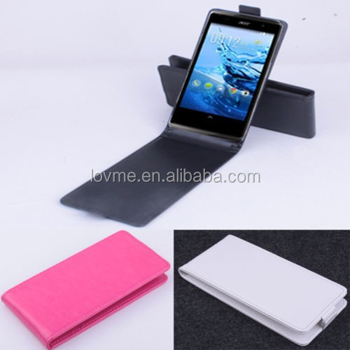 High Quality PU Leather Flip Case Cover For 5 Acer Liquid E700 Smartphone UD