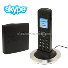 Dual-model No PC Required Cordless Skype and Landline Phone