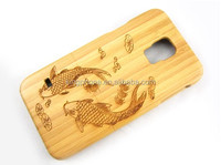 Engraved wood, cheap mobile phone case for Samsung galaxy S5