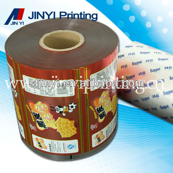Multilayer printing food packaging film plastic on roll