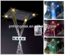 nice look outdoor spa led shower complete set 600*800mm
