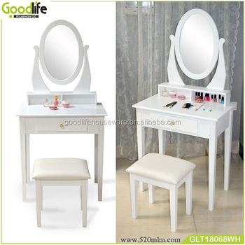 white bedroom desk, girl's dressing table