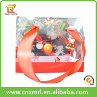 Accept custom soft crease clear plastic box plastic food box snack packaging plastic box