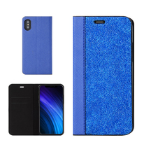 new arrivals 2018 case phone cover rock diamond leather book cases for iphone x