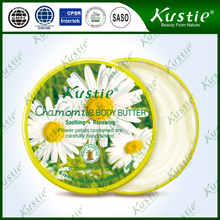 Cosmetic Wholesale Skin Moisture And Nourished Chamomile Body Butter and lotion For Girls After Shower
