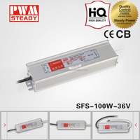 HOT Selling!CE Approved SFS-100-36 IP67 waterproof high reliablity constant voltage led driver/110vac to 36v dc led power supply