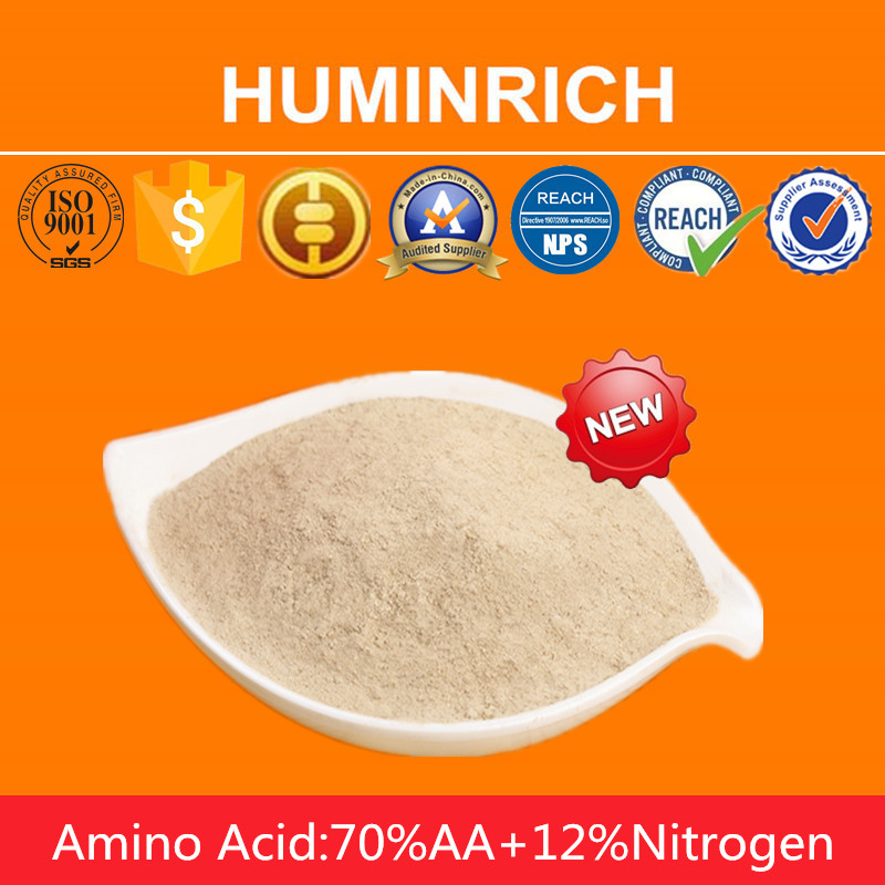 Huminrich Biological Plant Growth Promoter Vegetal Amino Acid Fertilizer Manufacturer In China