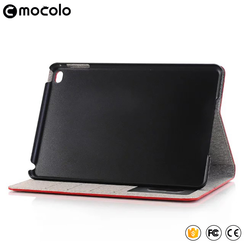 2017 hot selling wholesale Grain Table full cover flip pu leather wallet stand tablet case for ipad pro case 9.7