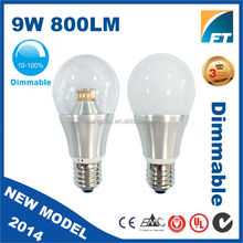 factory price led bulb E27 9 watt LED energy efficient light bulbs in india market