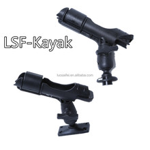 2018 China OEM wholesale adjustable 360 Swivel plastic Fishing Rod Holders for Kayak and Canoe Accessories