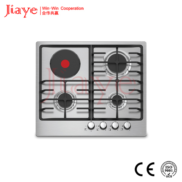 Hot sale!! Built-in 4 burner Stainless Stell panel electric stove and hob