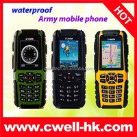 "2.2"" Dual SIM Military Grade Phones Waterproof Mobile Phone Umate A81 Cheap Phone"