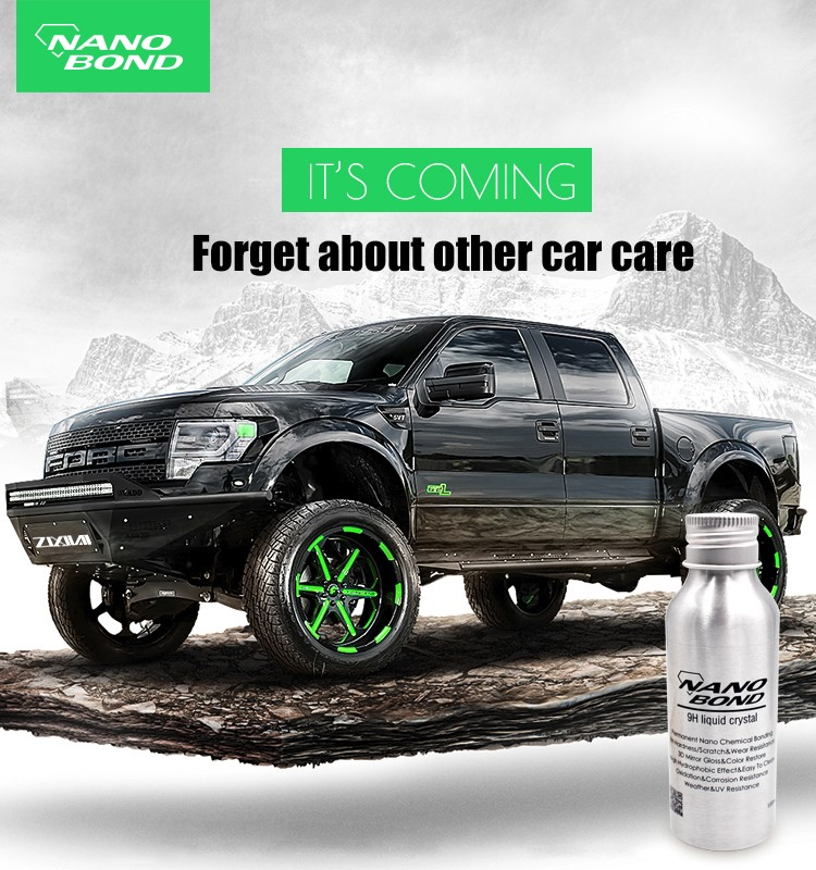 nano silicone coating for car
