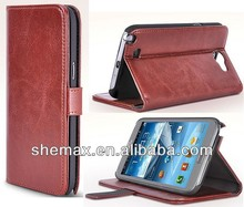 For Samsung N9005 Galaxy Note 3 PU Wallet Leather Case