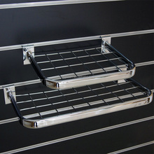 D sharp mesh display hanging rail for shop