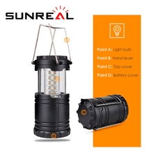 Factory production ABS Solar Power Rechargeable Ultra Bright handy torch lamp flashlight telescopic camping lantern