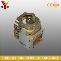 Customized Cast Brass Welding Machine Parts