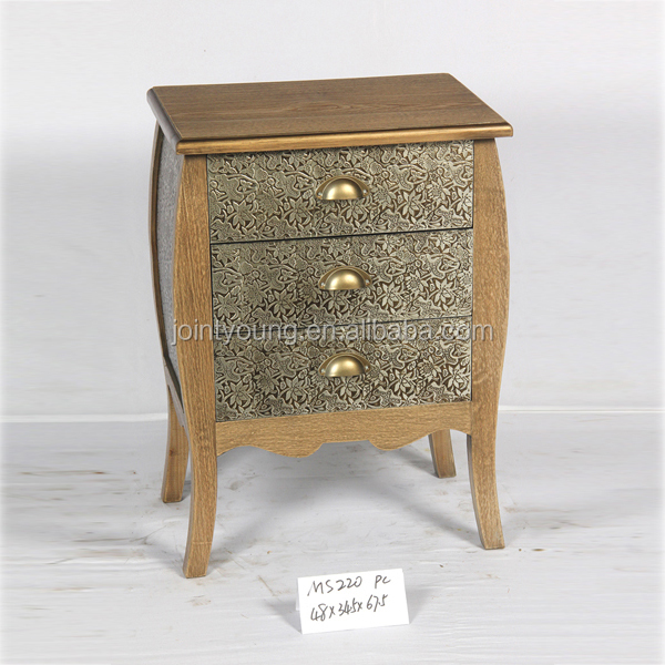 French Antique Vintage Shabby Chic Solid Wood Furniture